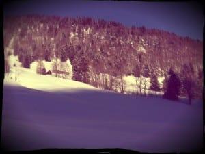 Skitour Sonnentag
