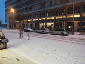 Snow in Dietikon