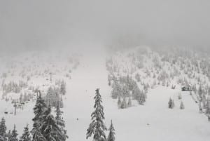 Mount Seymour foggy