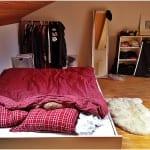 Neue Wohnung - Mein Bettchen