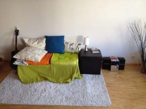 Neue Wohnug - Das Wohnzimmer