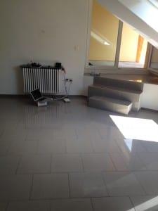Alte Wohnung - Leer