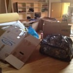 Neue Wohnung - das Chaos