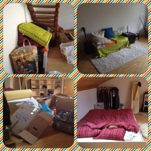 Neue Wohnung - Vorher-Nachher