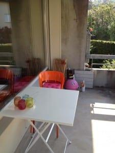 Neue Wohnug - Der Balkon