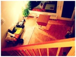 Wohnung - Blick von oben