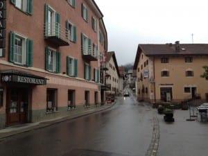 Berguen - Start der Wanderung
