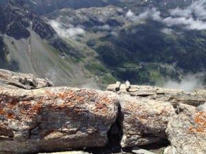 Blick auf den Albulapass