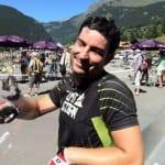 Carlo nach dem Rennradeln