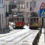Strassenbahnen in Lissabon