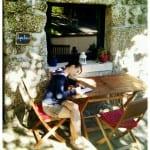 Vor unserem Cottage