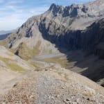Abstieg ins Moraenental