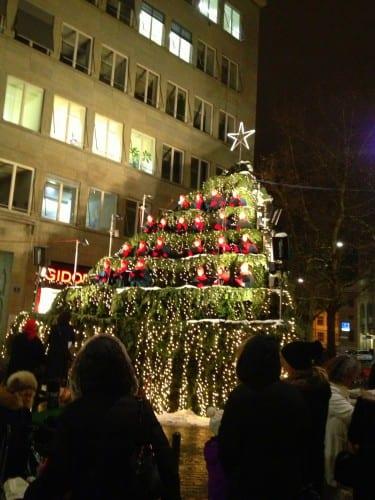 Weihnachtsmarkt in Zürich