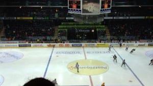 Im Berner Hockeystadion