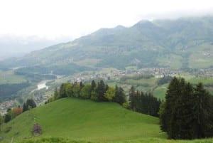 Aussicht auf das Freiburger Land