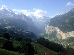 Blick auf die Jungfrauregion