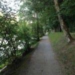 Joggingstrecke an der Aare