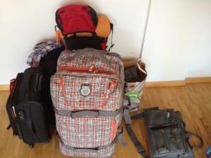 Mein Gepäck