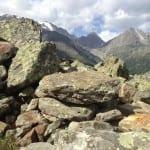 Steinige Gegend
