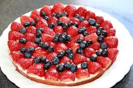 strawberry-blueberry-cake