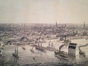 Der Hafen 1860