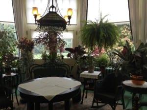 Spadina House - Wintergarten