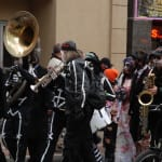ZombieWalk - mit Kapelle