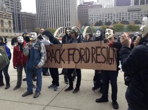 Protestgruppe