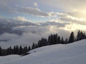 Ãœber den Wolken