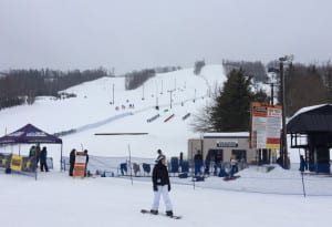 Das Skigebiet