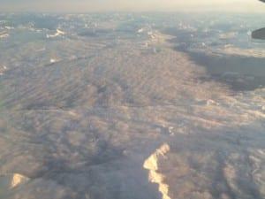 Berge von oben