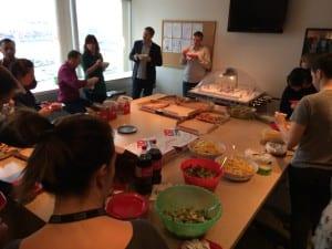 Potluck: Picknick im Büro