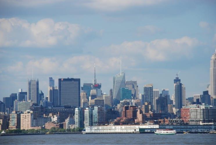 New York vom Boot aus
