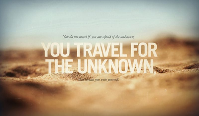 travel-for-the-unknown