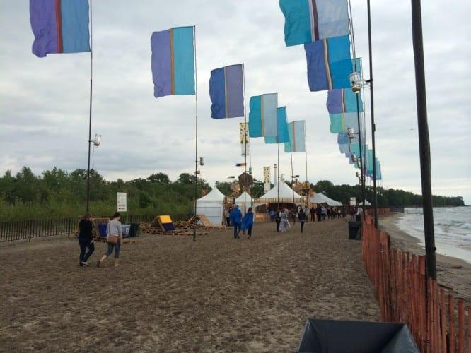 Das Festivalgelände