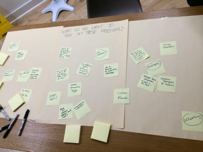 Ideensammlung für weitere Workshops und Treffen
