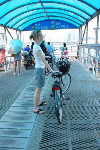 Coco mit Bike