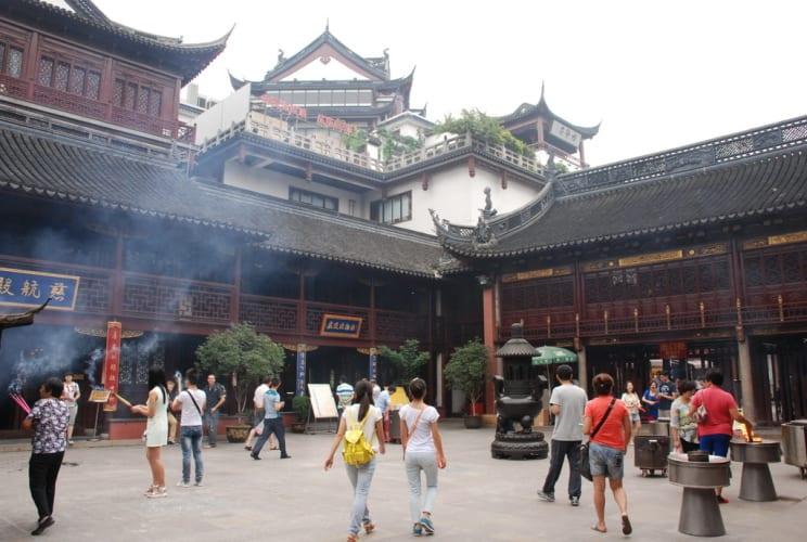 Im Stadt-Tempel