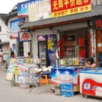 Verkaufsstände an Touri-Ecken
