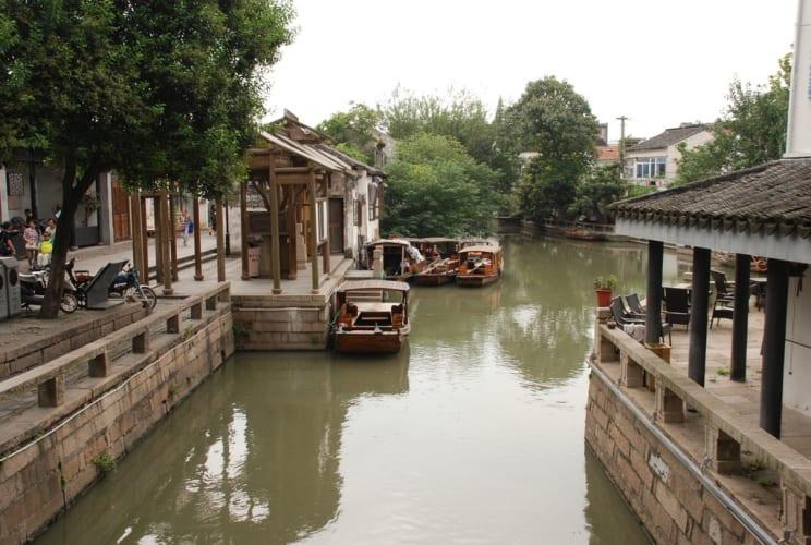 Kanal in der Old City