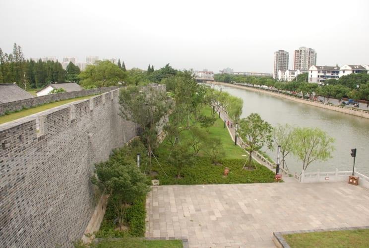 Blick auf den Kanal