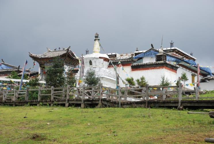 Tibetischer Tempel am Yak Meadow
