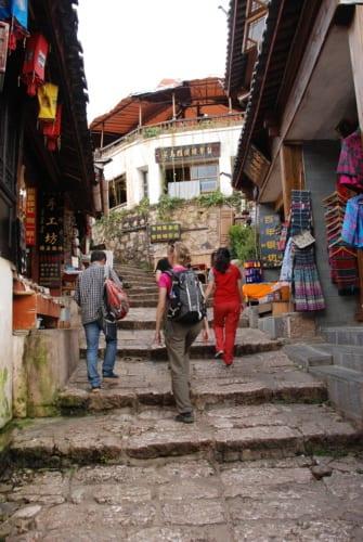 Lijiang - obere Altstadt