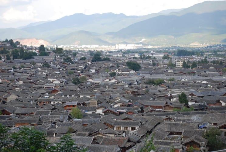 Lijiang von oben