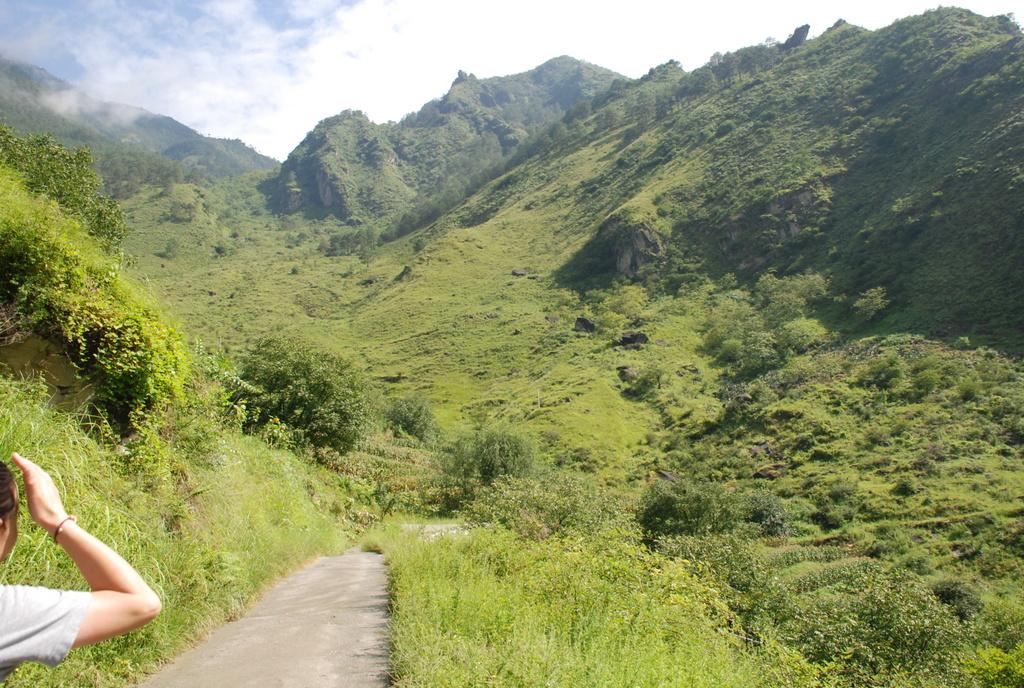 Start of our trekking tour
