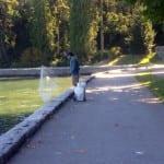 Angler am Stanley Park