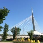 Brücke zur französischen Seite