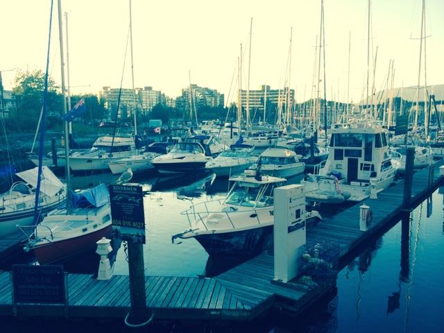 Hafen bei Granville Island