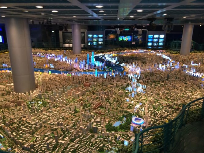 Shanghai: im Urban Planning Zentrum