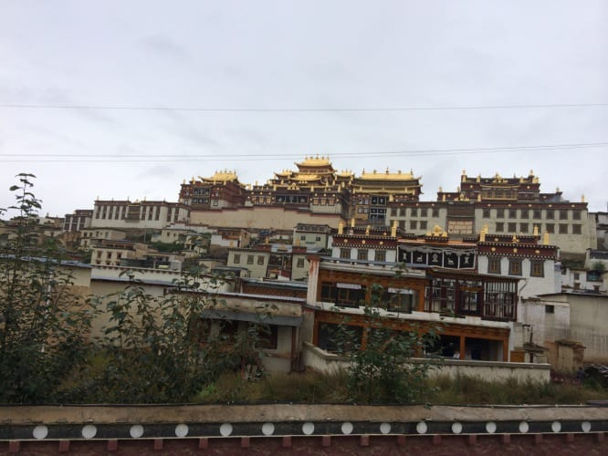 Monastry in Shangri-La